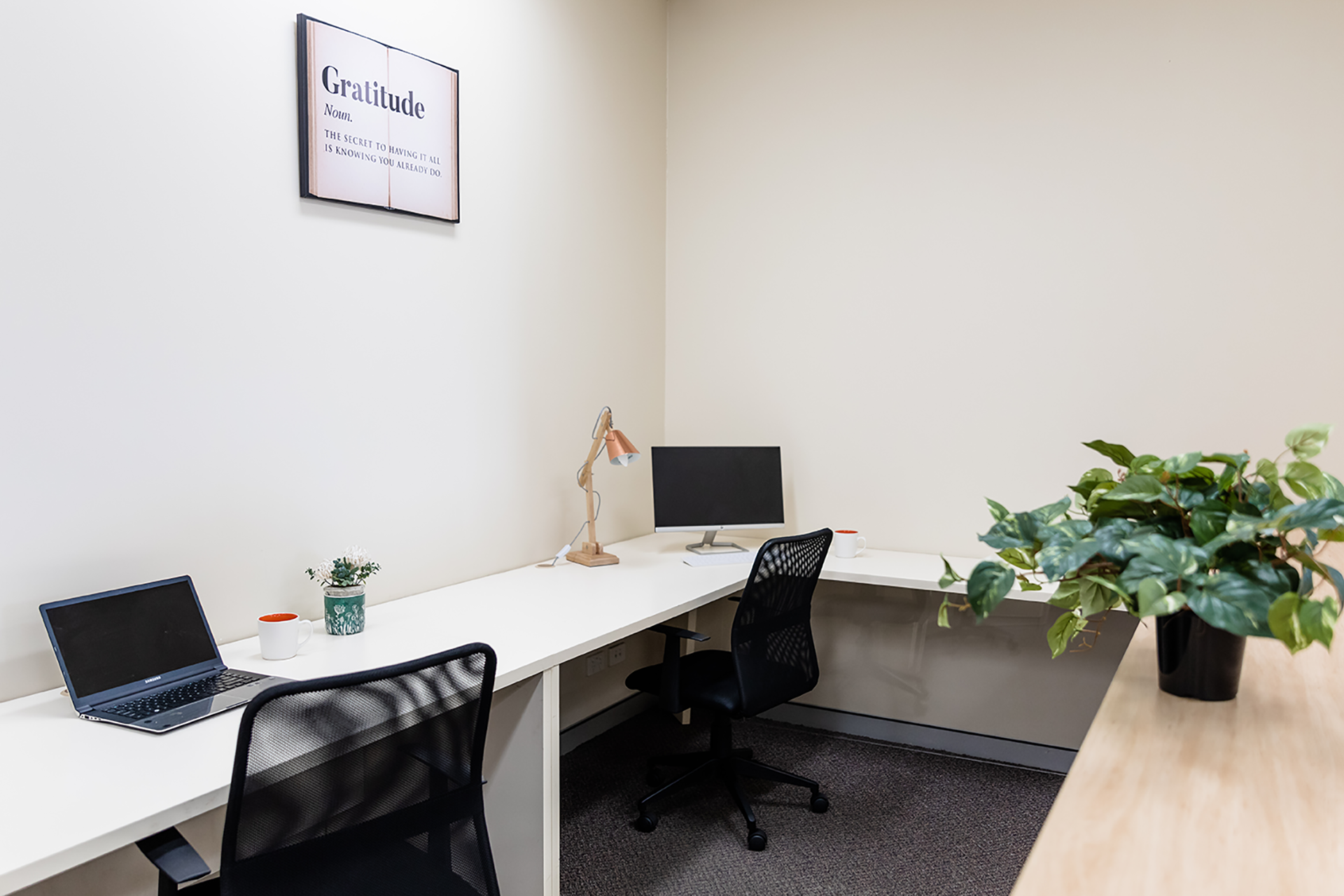 Open office space for hire
