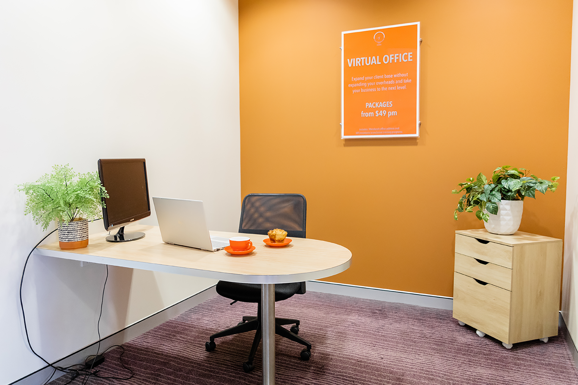 VOMA Small Business Hub Private Offices Available for Hire